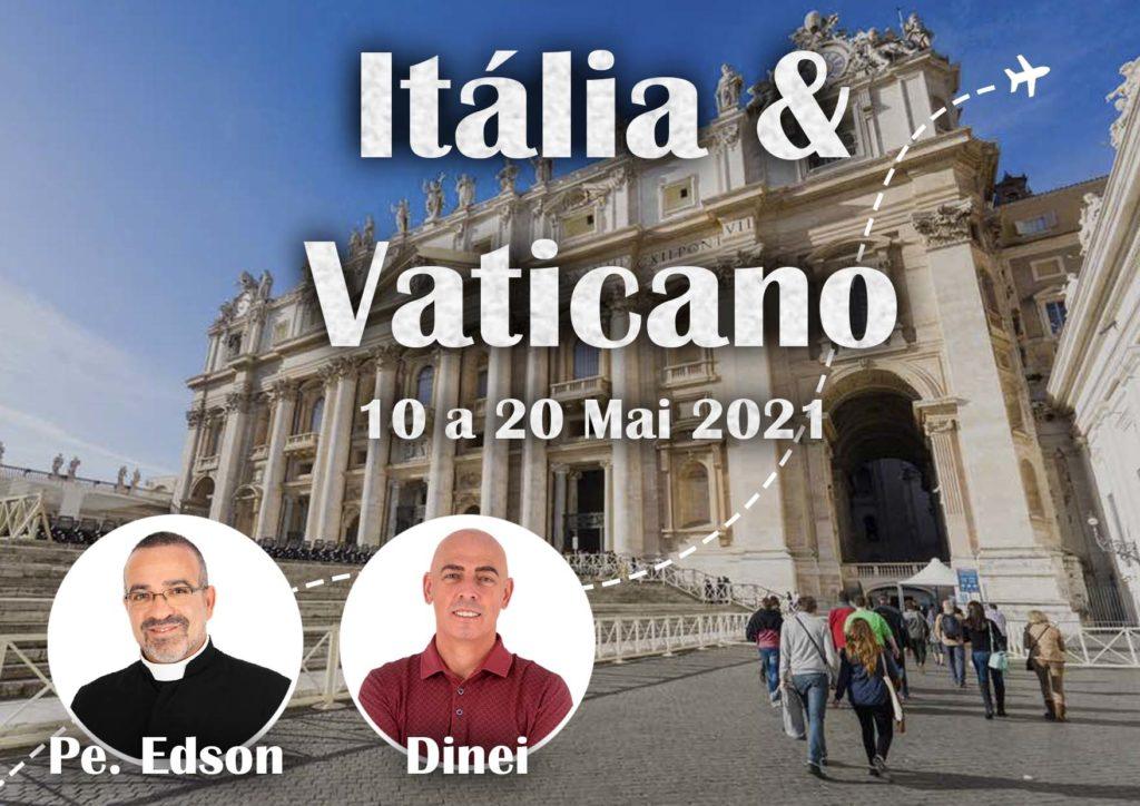10.05.2020 - ITÁLIA E VATICANO - DINEI
