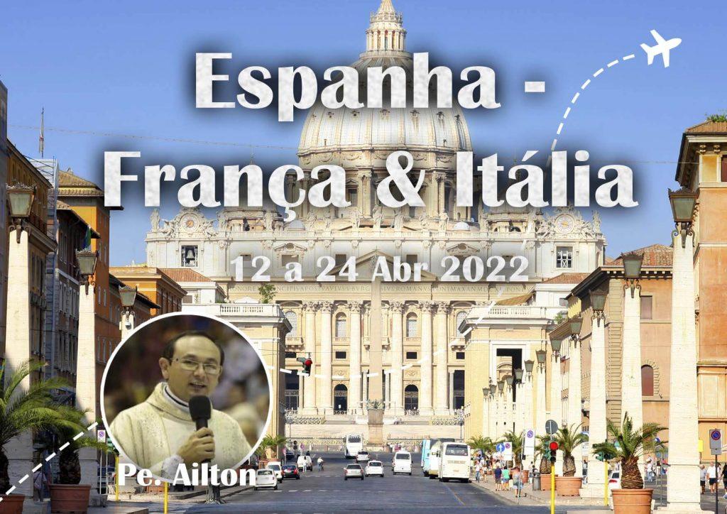 Espanha, França & Itália