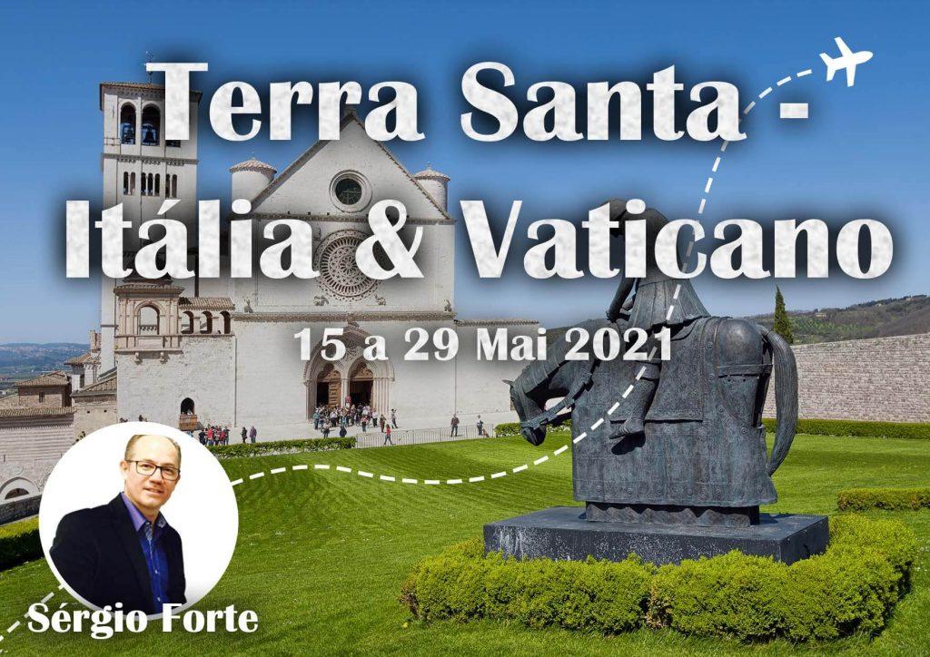 15.05.2021 - TERRA SANTA - ITÁLIA E VATICANO - SERGIO FORTE