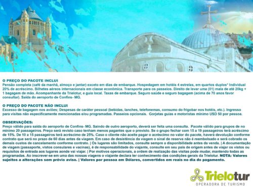 18.10.2021- TERRA SANTA - PE HELTON - EXPERIENCETUR