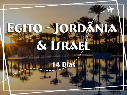 CAPA EGITO - JORDANIA E ISRAEL