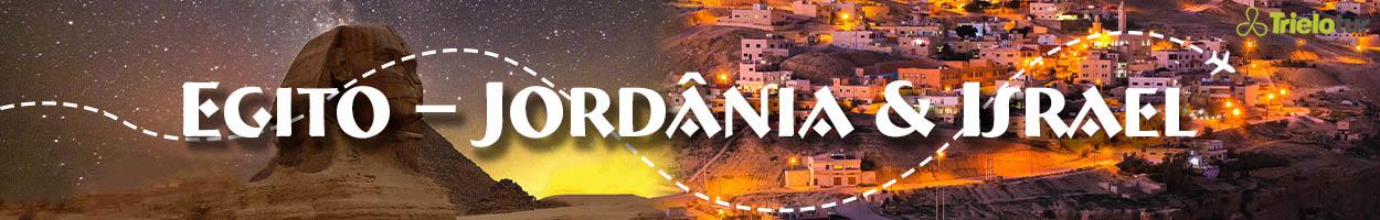 Egito – Jordânia & Israel